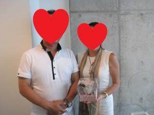 成婚者 Pさん