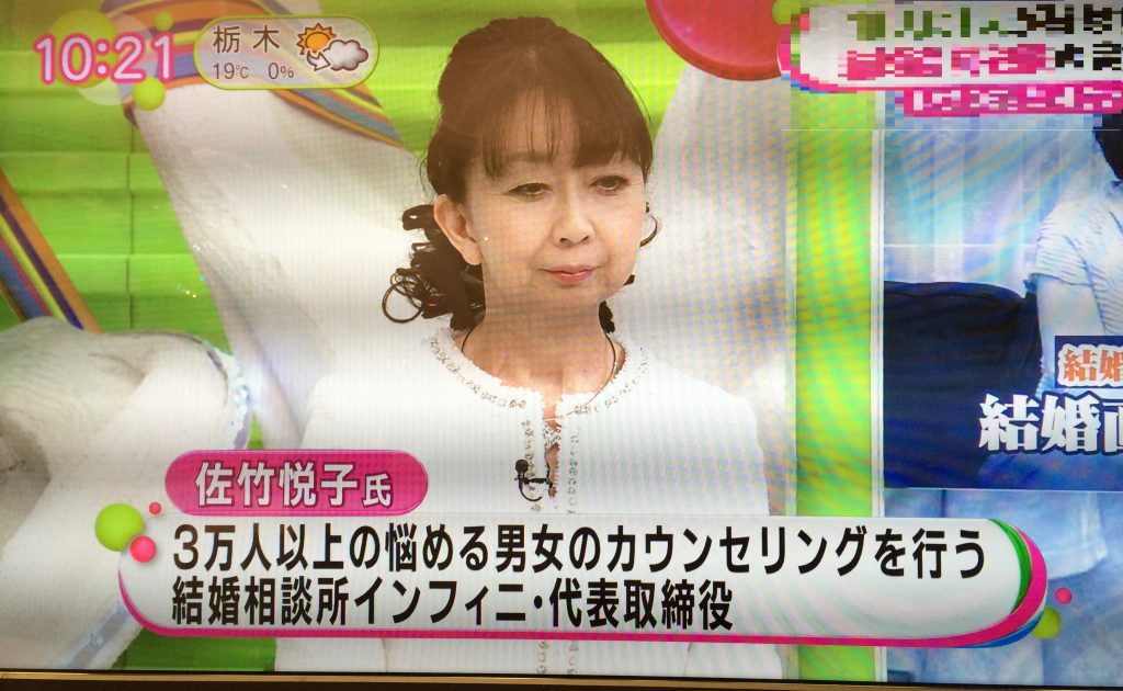 テレビ 結婚相談所