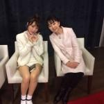TV出演 AKB48たかみなさんとお話しました