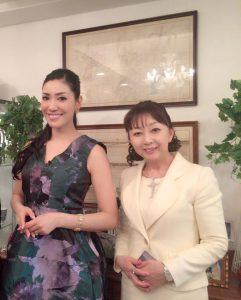 セレブのアンミカさんと佐竹悦子