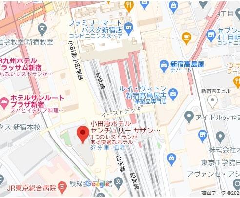 新宿小田急センチュリーサザンタワーホテル